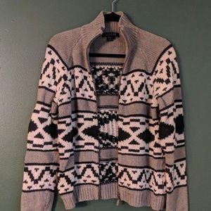Ralph Lauren Sweaters - Ralph Lauren print zip-up sweater